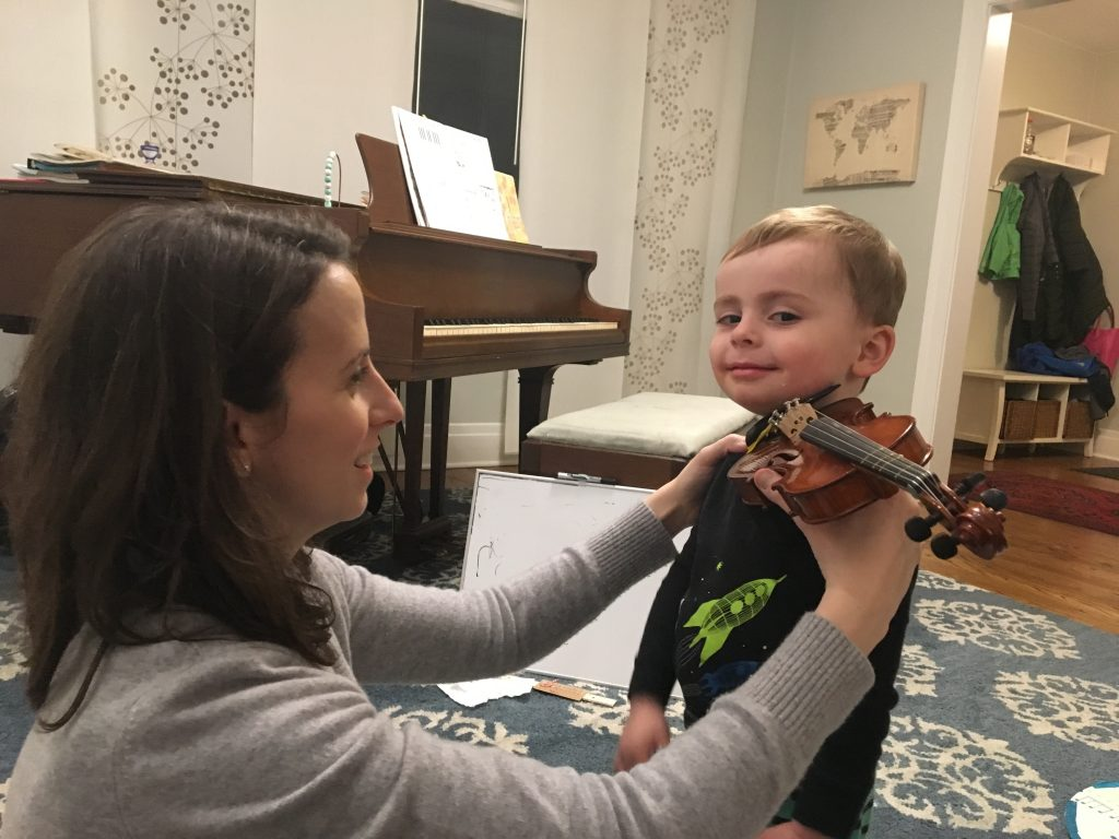Parent classes at OP String Academy