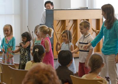 Rehersal and Recital for Oak Park Suzuki School