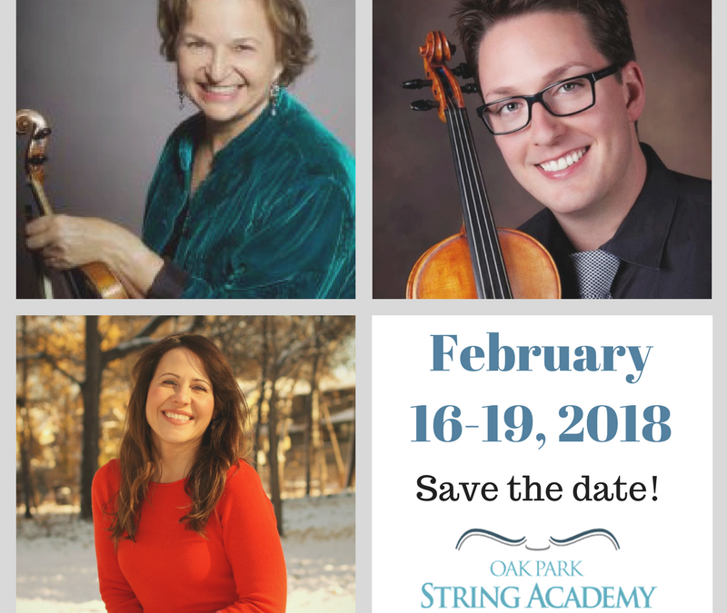 Teacher Training at OPSA February 16-18, 2018