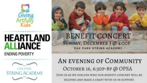 Special Event w/ Heartland Alliance @ OP String Academy