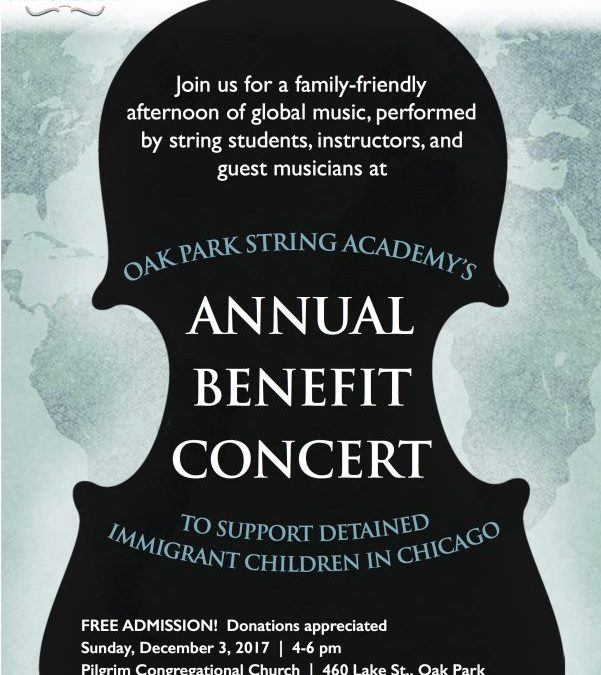 Benefit Concert this Sunday, December 3 at 4p