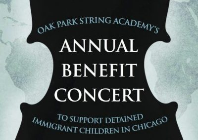 Benefit Concert Poster