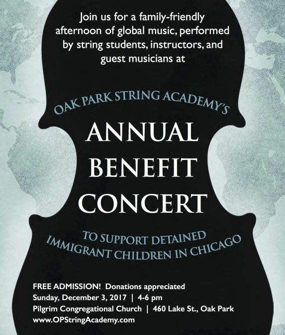 Benefit Concert for Heartland Alliance at Oak Park String Academy