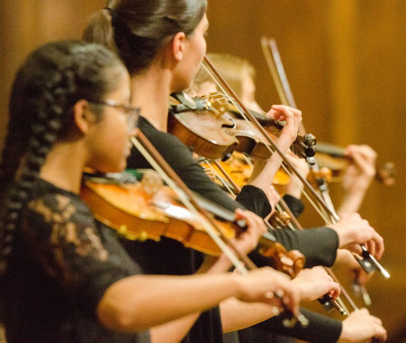 Oak Park String Academy at Unity Temple December 14, 2019