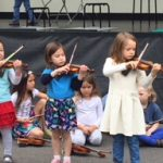 Oak Park String Academy at Whats Blooming on Harrison Street Fesitval