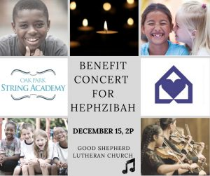 Benefit Concert for Hephzibah @ Grace Lutheran Church | River Forest | Illinois | United States