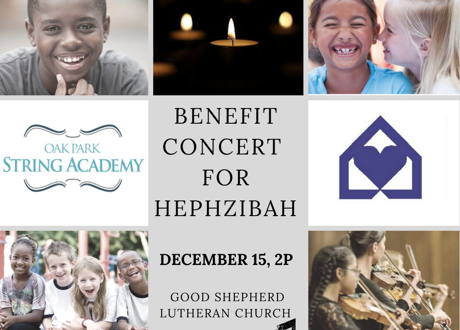 Benefit Concert for Hephzibah