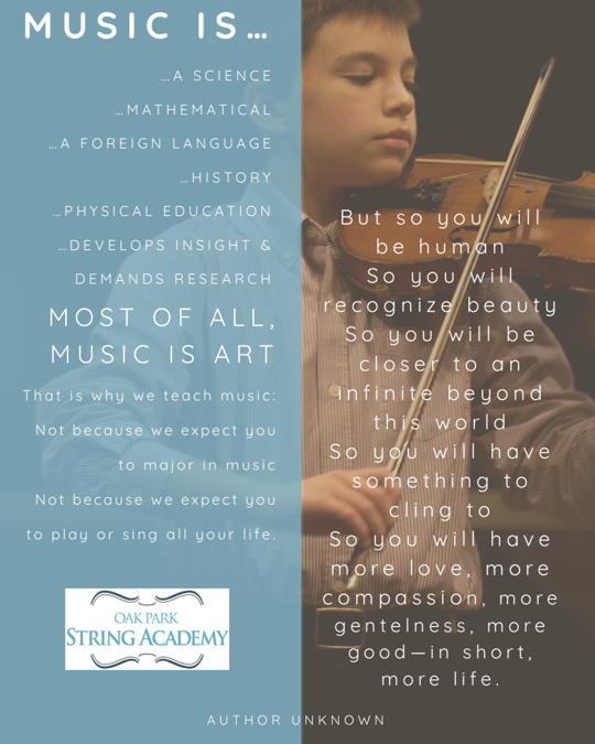 Back to school! Tips for encouraging success in music class.