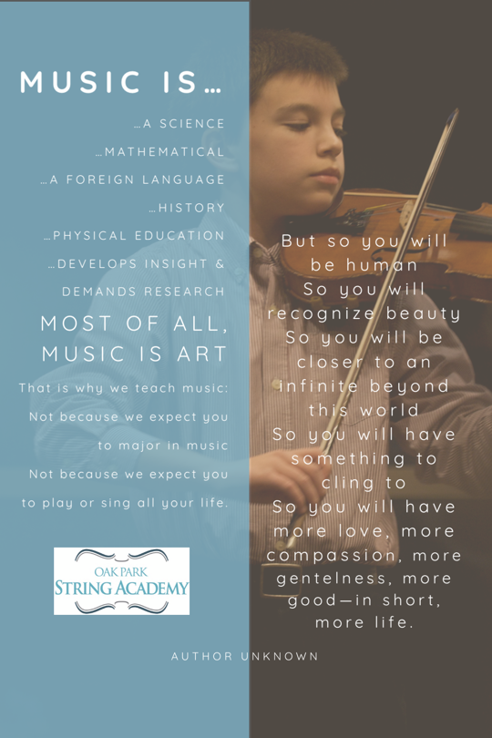 Op string academy why we teach music